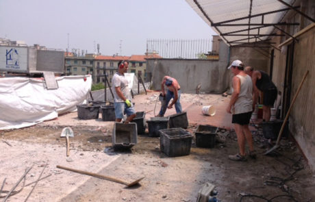 Impresa Edile Ranghetti - Impermeabilizzazione terrazzi