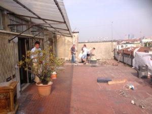 Impresa Edile Ranghetti - Impermeabilizzazione terrazzi - Pavimento
