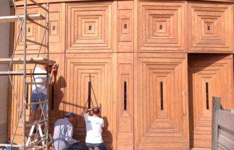 Impresa Edile Ranghetti - Restauri conservativi - Portone Chiesa