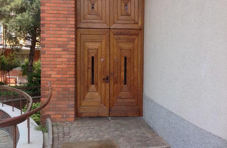 Impresa Edile Ranghetti - Restauri conservativi - Porta Chiesa
